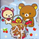 San-X Rilakkuma Strawberry Sticker Sack