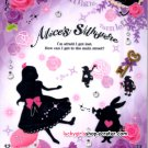 Kamio Japan Alice's Silhouette Letter Pad Kawaii