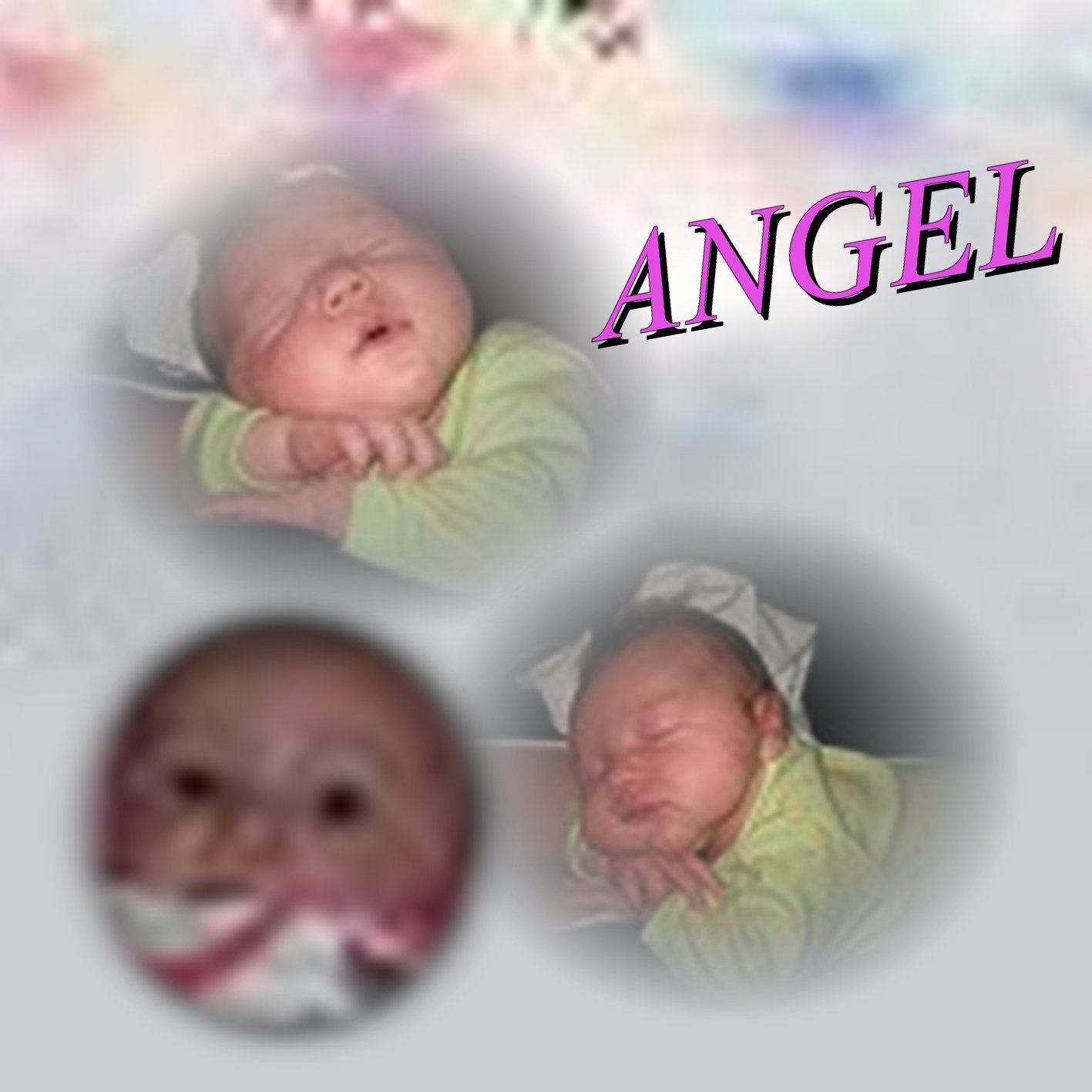 Babies Angel 8.5 x 8.5