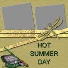 Camping Hot Summer 8.5 x 8.5