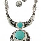 DROPLET TURQUOISE NECKLACE