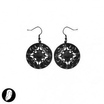 (6 pezzi/pcs.) Orecchini - EARRINGS - MOD. SI313812