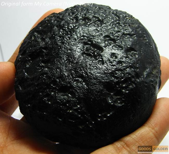158.6 g.PERFECT BIG DISC TEKTITE METEORITE J58
