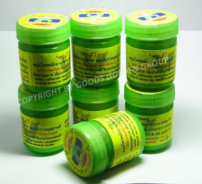 7PCS VERY FAMOUS ORIGINAL THAI HERBAL INHALANT MASSAGE@