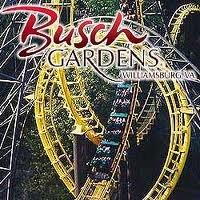 (2) Busch Gardens, Williamsburg, VA Tickets