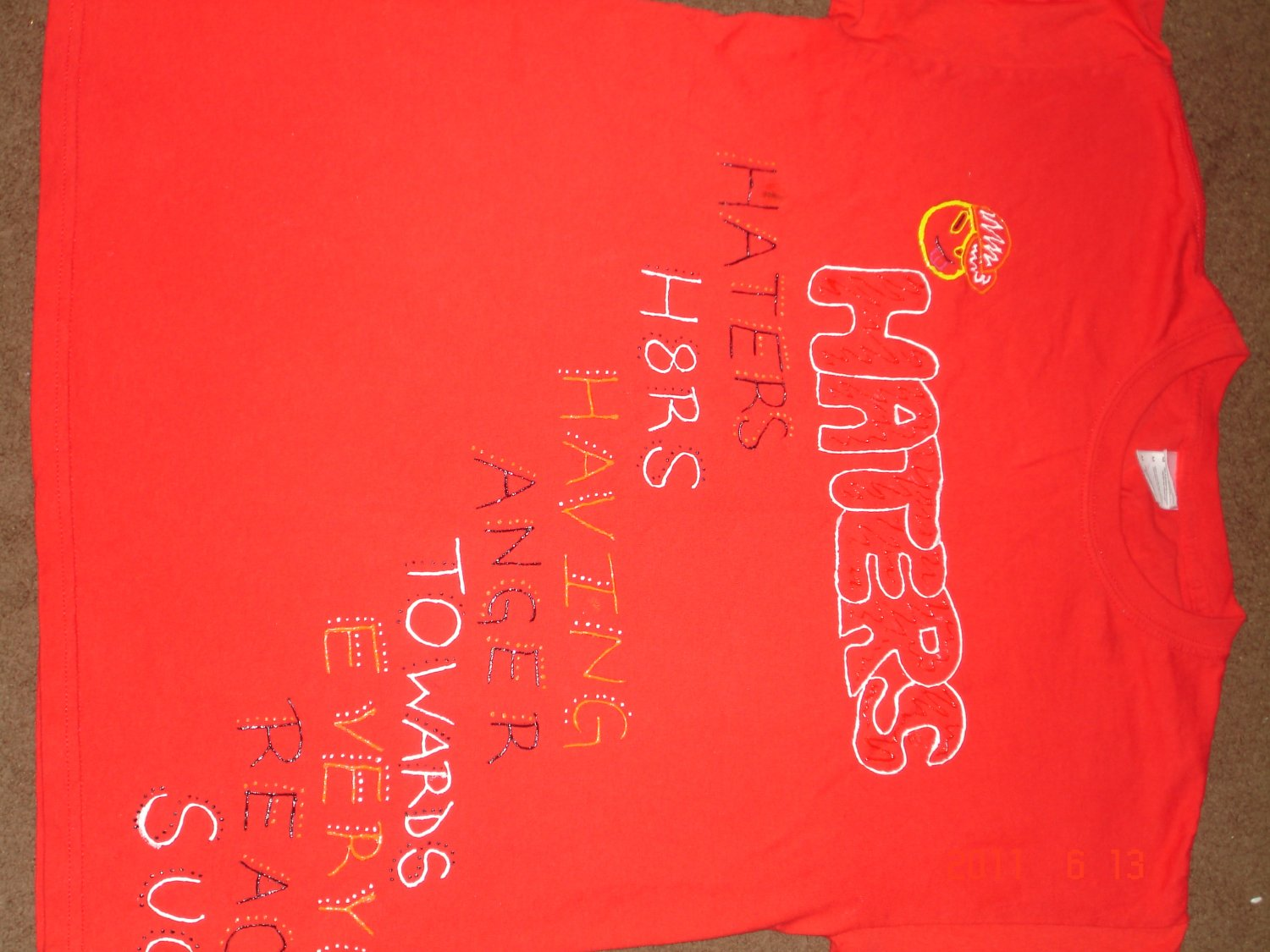 Red Haters Shirt
