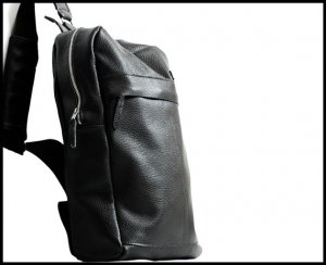 Leather Sling Backpack Bag for him or her