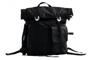 Waterproof Back pack,a large backpack, unisex black backpack