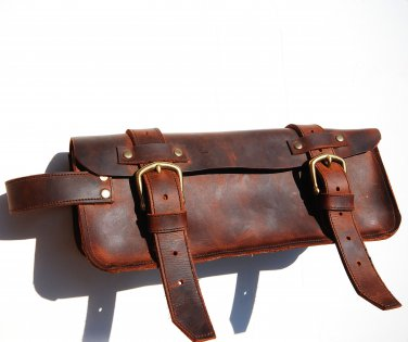 Leather dopp bag, traveling dopp kit, makeup bag, shaving kit