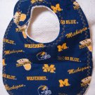 University of Michigan baby bib