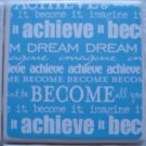 Big Dreamer Ceramic Tile Coaster Set