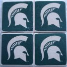 Michigan State Spartans Ceramic Tile Coaster Set