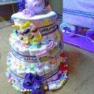 Diaper Tier Cake