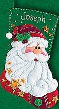 Sequined Santa