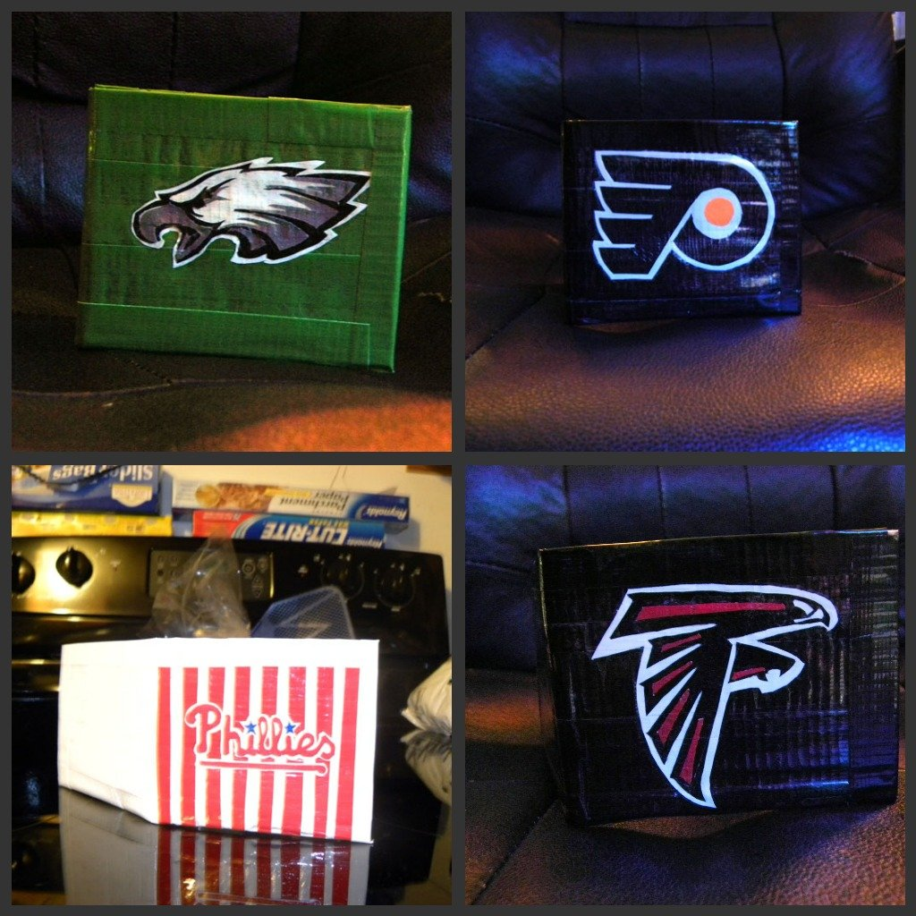 Duct Tape Sports Wallets
