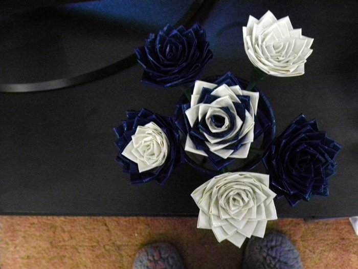 Large Two Toned Roses