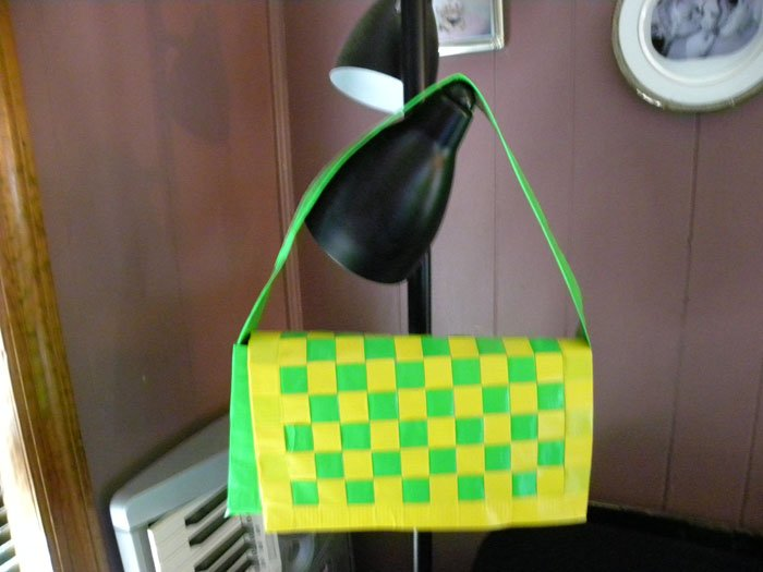 Basketweave Purse