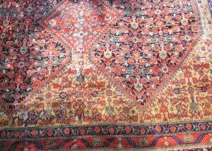 Certified Persian Mahal Carpet