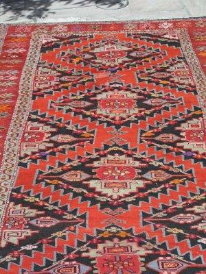 Persian Hamadan Village Rug Runner