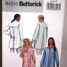 Blouse/Shirt Pattern with Style Variations - Butterick 4231