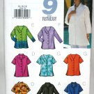 Blouse Shirt Pattern with Style Variations - Butterick 3523