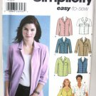 Blouse Shirt Pattern with Style Variations - Simplicity 5455