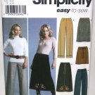 Skirt and Pants Pattern - Simplicity 5459