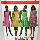 Dress and Purse Pattern with Style Variations - Simplicity 4675