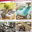 Table Top Accessories and Chair Pad Pattern - Simplicity 5530