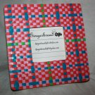Pretty Pink Plaid Woven Picture Frame