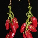 String of Peppers Earrings