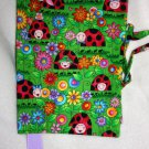 Ladybugs and Flowers Book Cover (Large)
