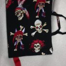 Pirate Skulls Book Cover (Large)