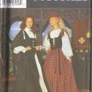 Historical Scottish Dress Costume Pattern - Butterick 6630