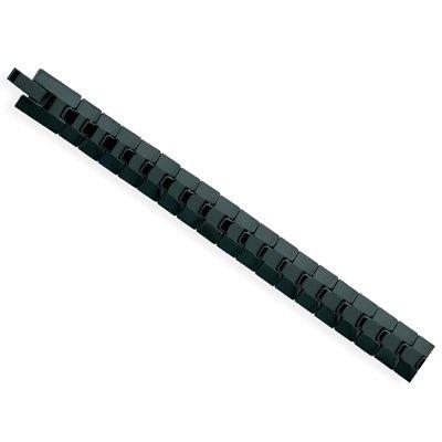 Black Tungsten Carbide Link Bracelet