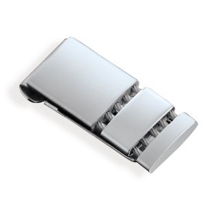 Stainless Steel and Cable Money Clip