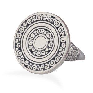 Ornate Coil Design Ring