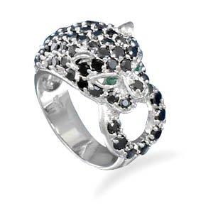 CZ Panther Ring