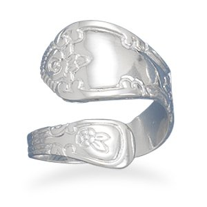 High Polish Spoon Ring