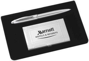 Pen mat with Card Holder