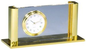 Card Holder and Clock