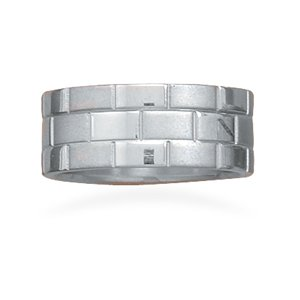 Three Row Stainless Steel Ring