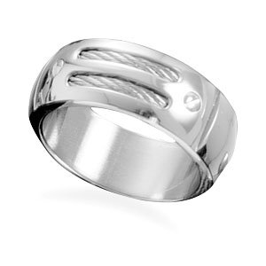 Steel and Cable Ring