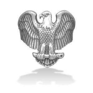 Large Oxidized Eagle Ring