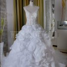 2011 factory real work exibition wedding dress 5310