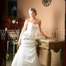 2012 strapless Glamorous White wedding dress 9lover0007