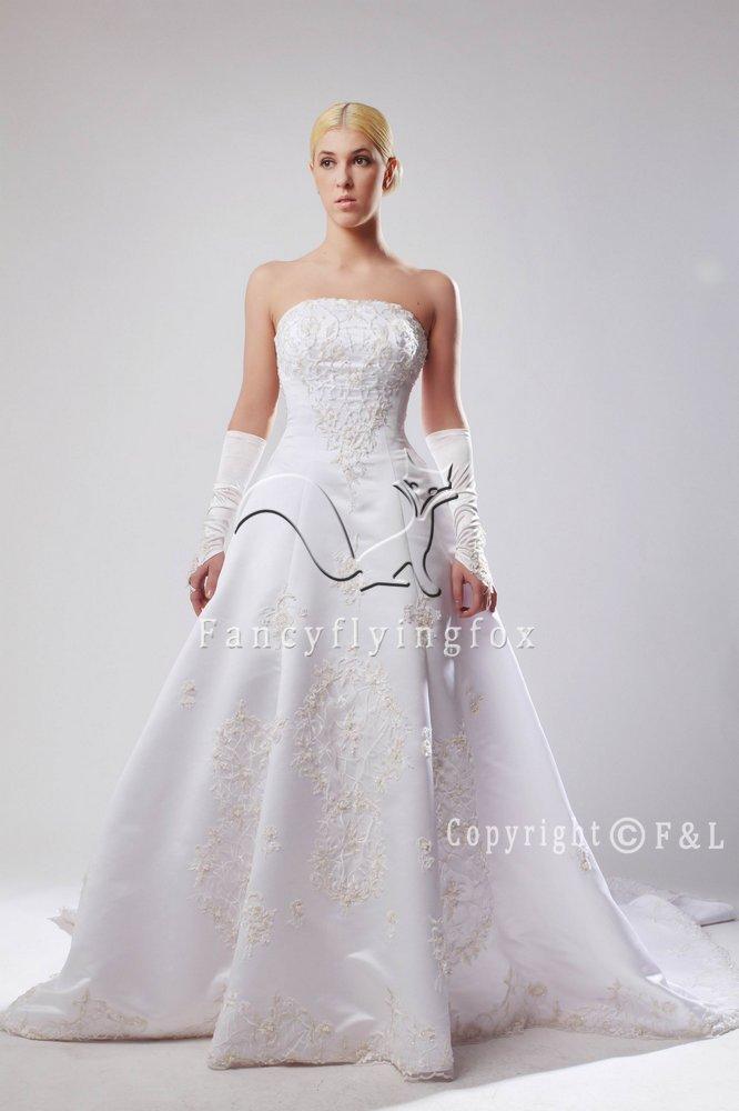 Romantic Cheap Formal Wedding Dress 25592