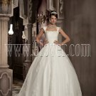Ball Gown Wedding Dresses with Cap Sleeves D6276
