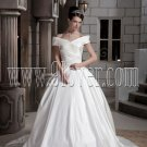 Strapless Mermaid Beaded Taffeta Gown Style 123818