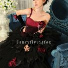 Stylishly Black 2013 Quinceanera Dress 14457
